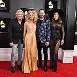 Philip Sweet, Kimberly Schlapman, Jimi Westbrook, and Karen Fairchild of Little Big Town at the 2019 Grammy Awards