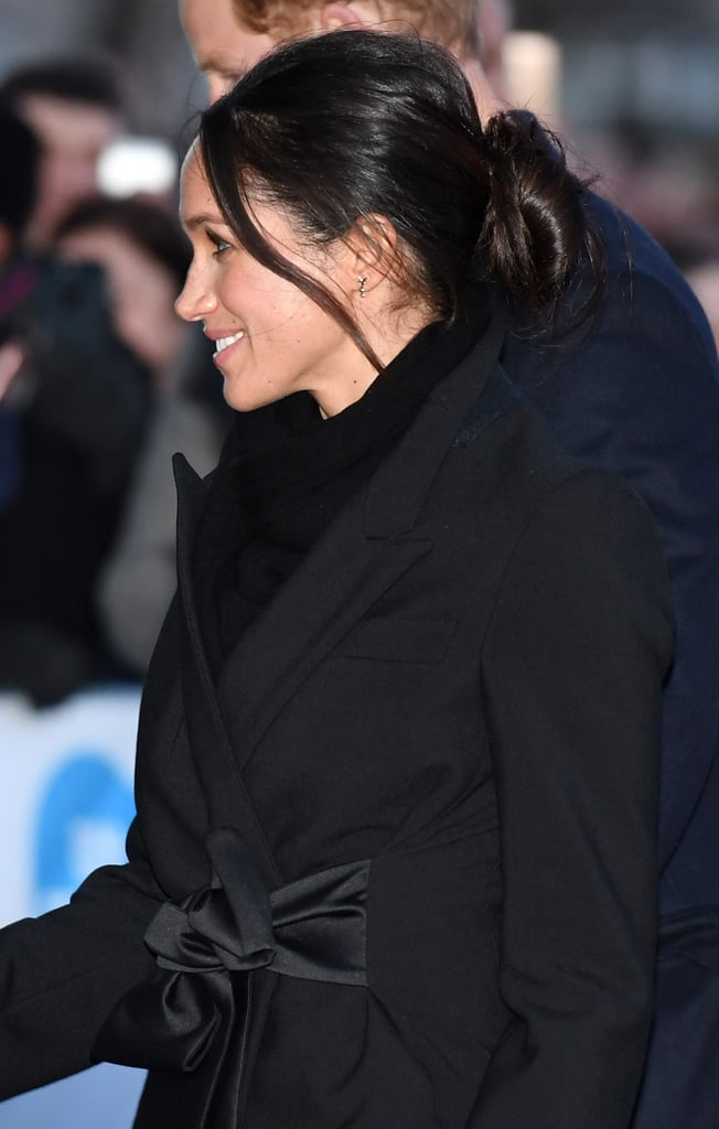 Meghan Markle Continues Her Reign of Making Effortlessly Chic Buns Royally Appropriate