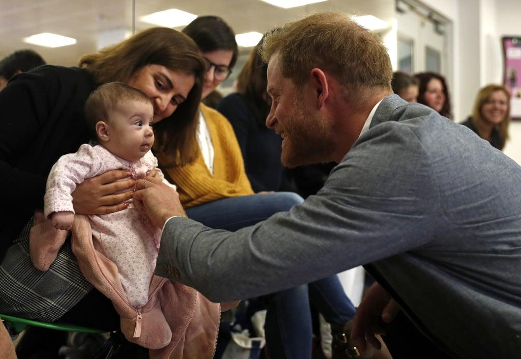 Prince Harry Visits YMCA South Ealing April 2019 | POPSUGAR Celebrity UK