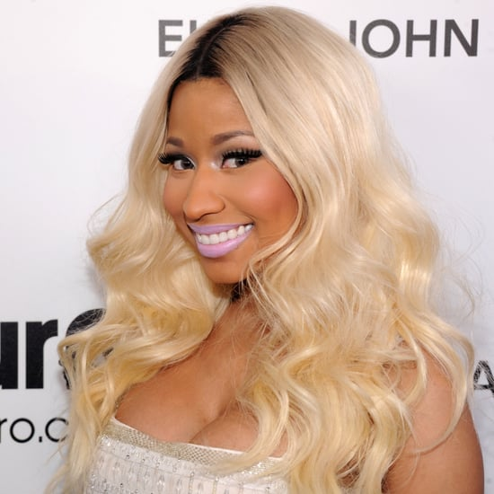 Nicki Minaj Oscars Party 2013 Hair