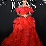 Kehlani at the Harper's Bazaar ICONS Party During New York Fashion Week
