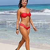 Pictures of Cheryl Burke in a Bikini on the Beach