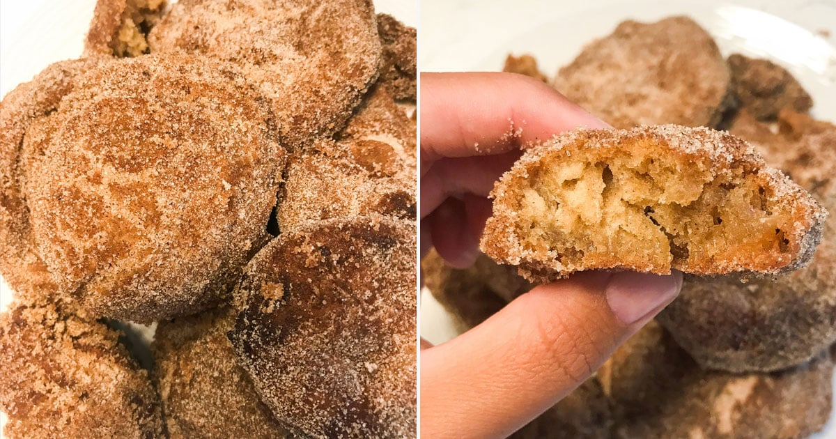 Perfect Fall Snack Alert: These Apple Cider Doughnut Holes Are Covered in Cinnamon Sugar