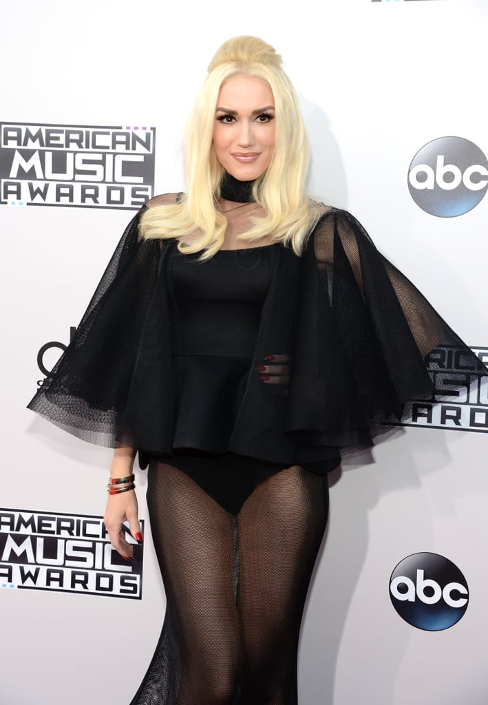 Gwen Stefani Goes Solo — and Shows Skin — at the American Music Awards