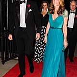 Kate Middleton Blue Jenny Packham Gown 2018