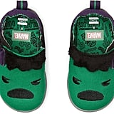 Toms Green Marvel Hulk Embroidered Applique Whiley Sneakers for Kids