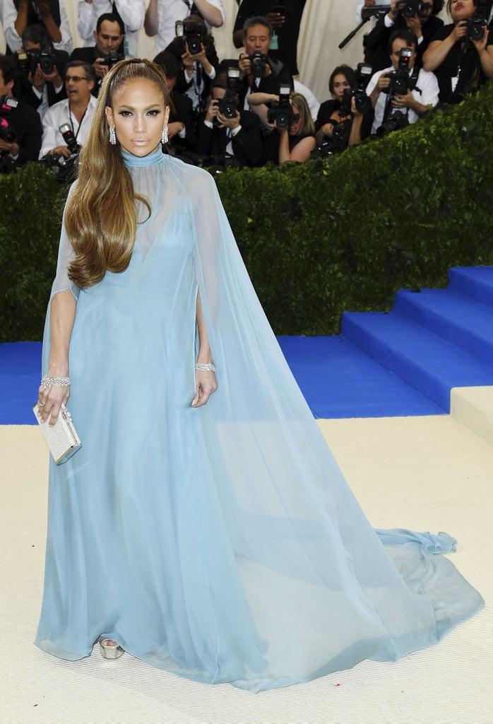 Jennifer Lopez in Valentino as . . .