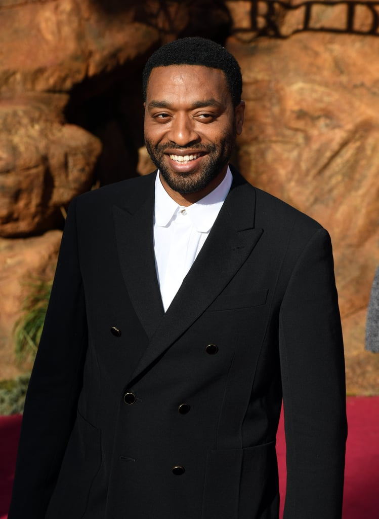 Pictured: Chiwetel Ejiofor at The Lion King premiere in Hollywood.