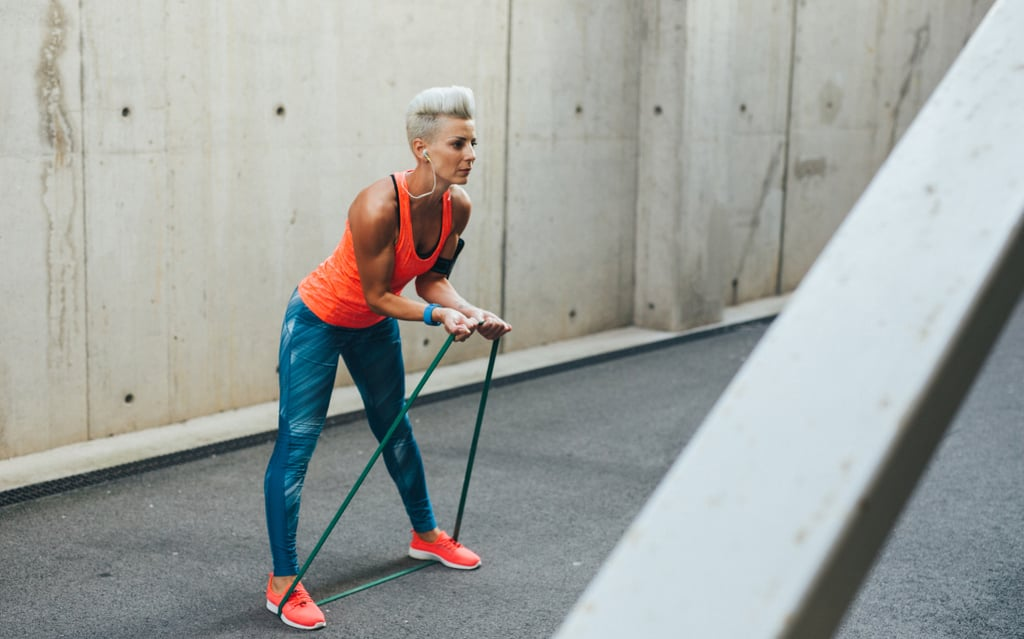 Resistance Band Workout For Biceps and Triceps