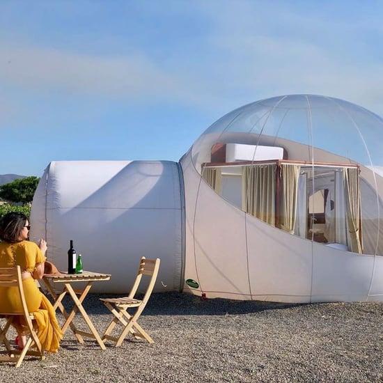 Campera Hotel Bubble Suite in Valle de Guadalupe