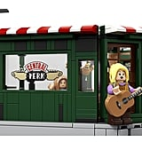 Friends Central Perk Lego Set From the Back