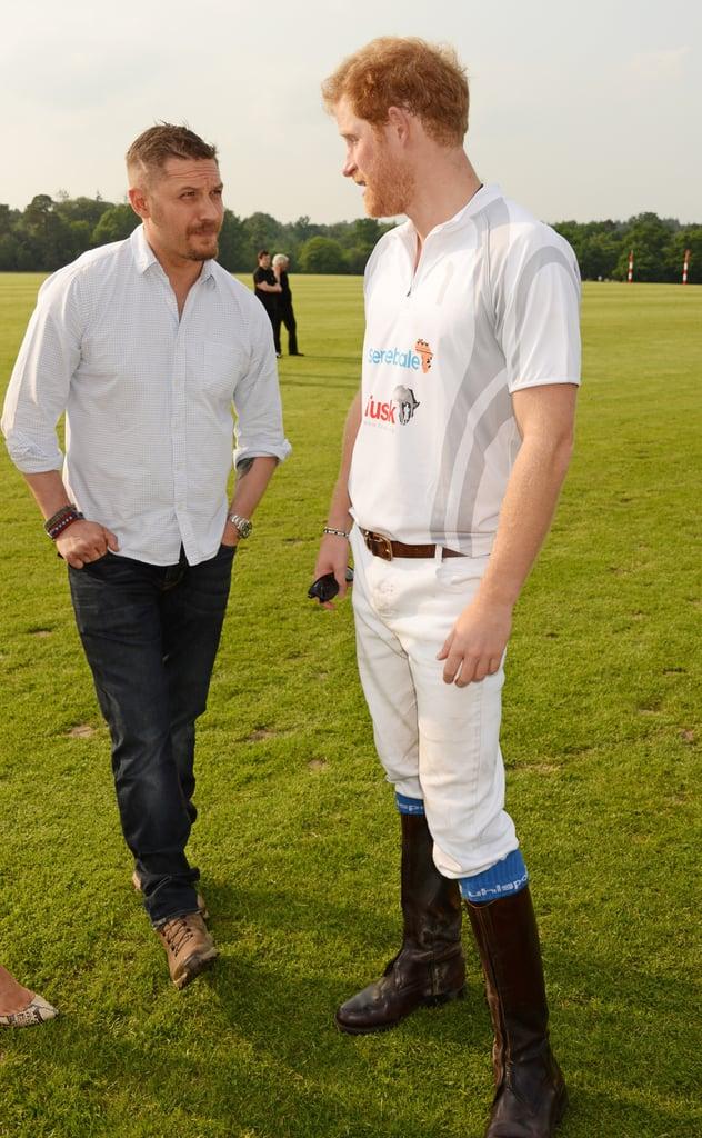 Harry and Tom Hardy