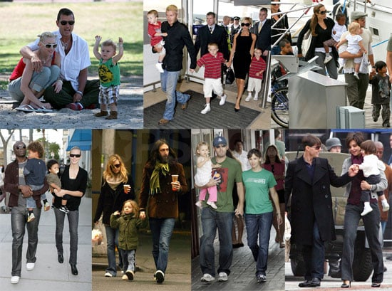 Who Is Your Favorite Celebrity Family of 2007?