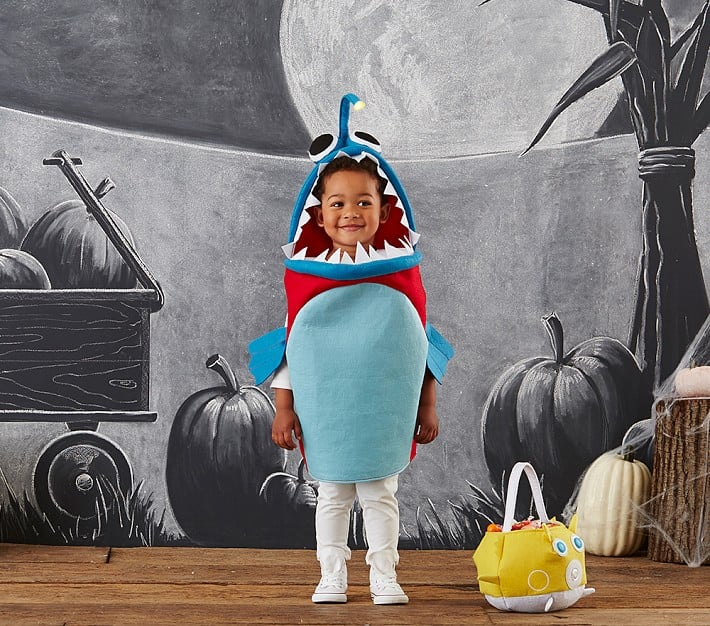 Toddler Angler Fish Costume Animal Halloween Costumes For Kids