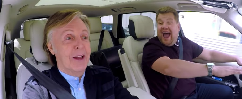Paul McCartney on Carpool Karaoke Video 2018