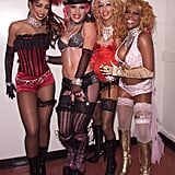 Mya, Pink, Christina Aguilera, and Lil' Kim