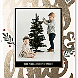 Joy Love Holiday Card from tinyprints ($2-$3 per card)