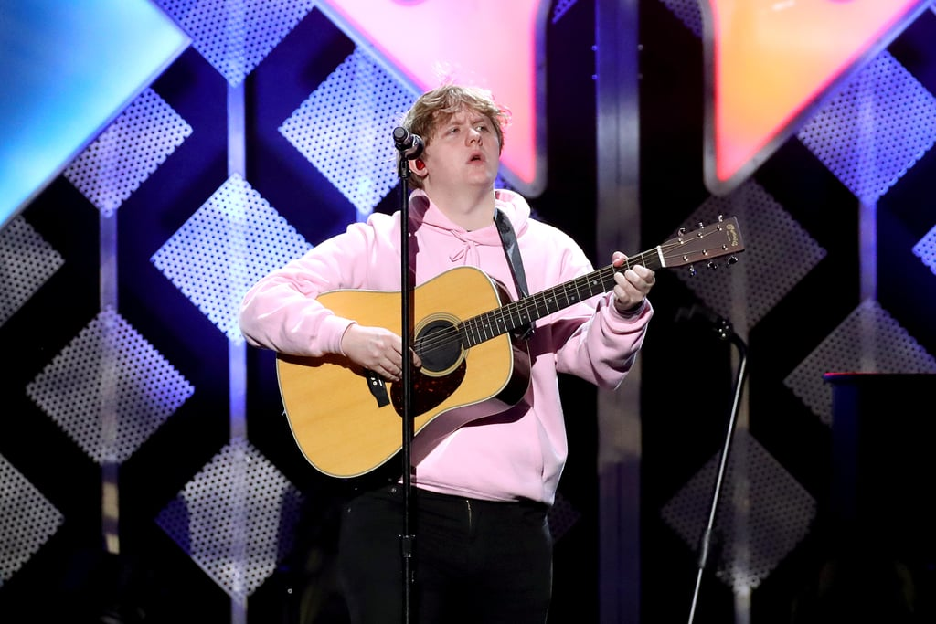 Lewis Capaldi at iHeartRadio's Jingle Ball in NYC