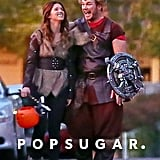Chris Pratt and Anna Faris Halloween 2018