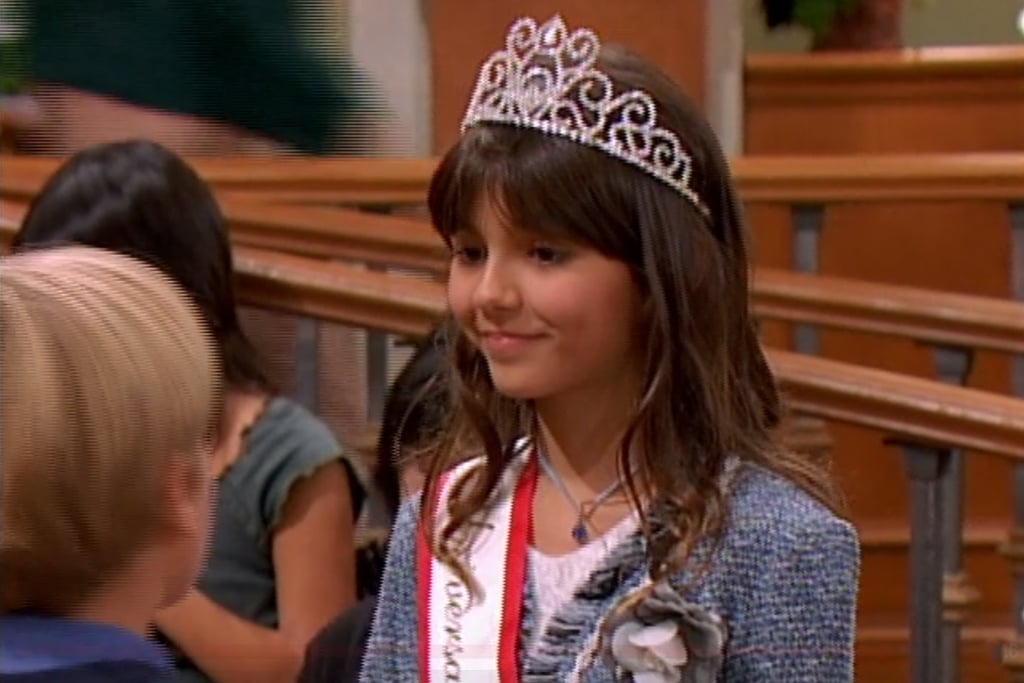 Victoria Justice on The Suite Life of Zack & Cody