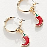 Fruity Mini Hoop Earrings