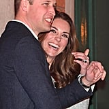 Kate Middleton Green Missoni Dress in Northern Ireland