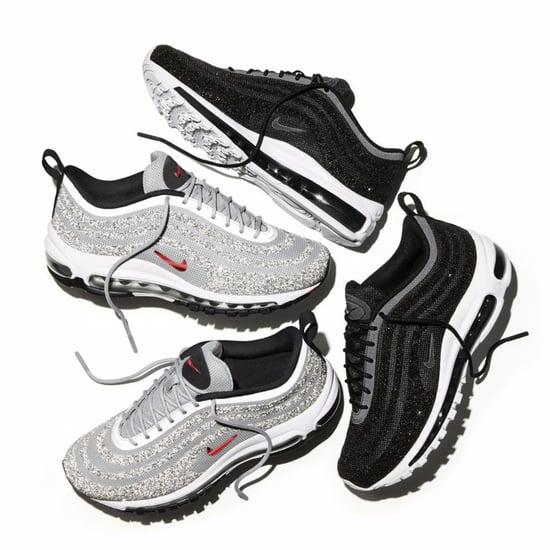 Nike Silver Swarovski Air Max 97 Sneakers