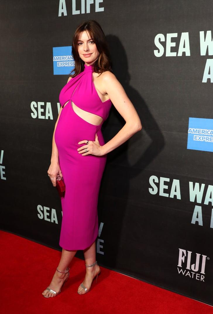 Anne Hathaway At Sea Wall A Life Broadway Show Photos Popsugar