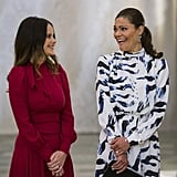 Princess Sofia of Sweden and Princess Victoria of Sweden
