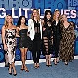 Reese Witherspoon, Zoë Kravitz, Laura Dern, Shailene Woodley, Nicole Kidman, and Meryl Streep