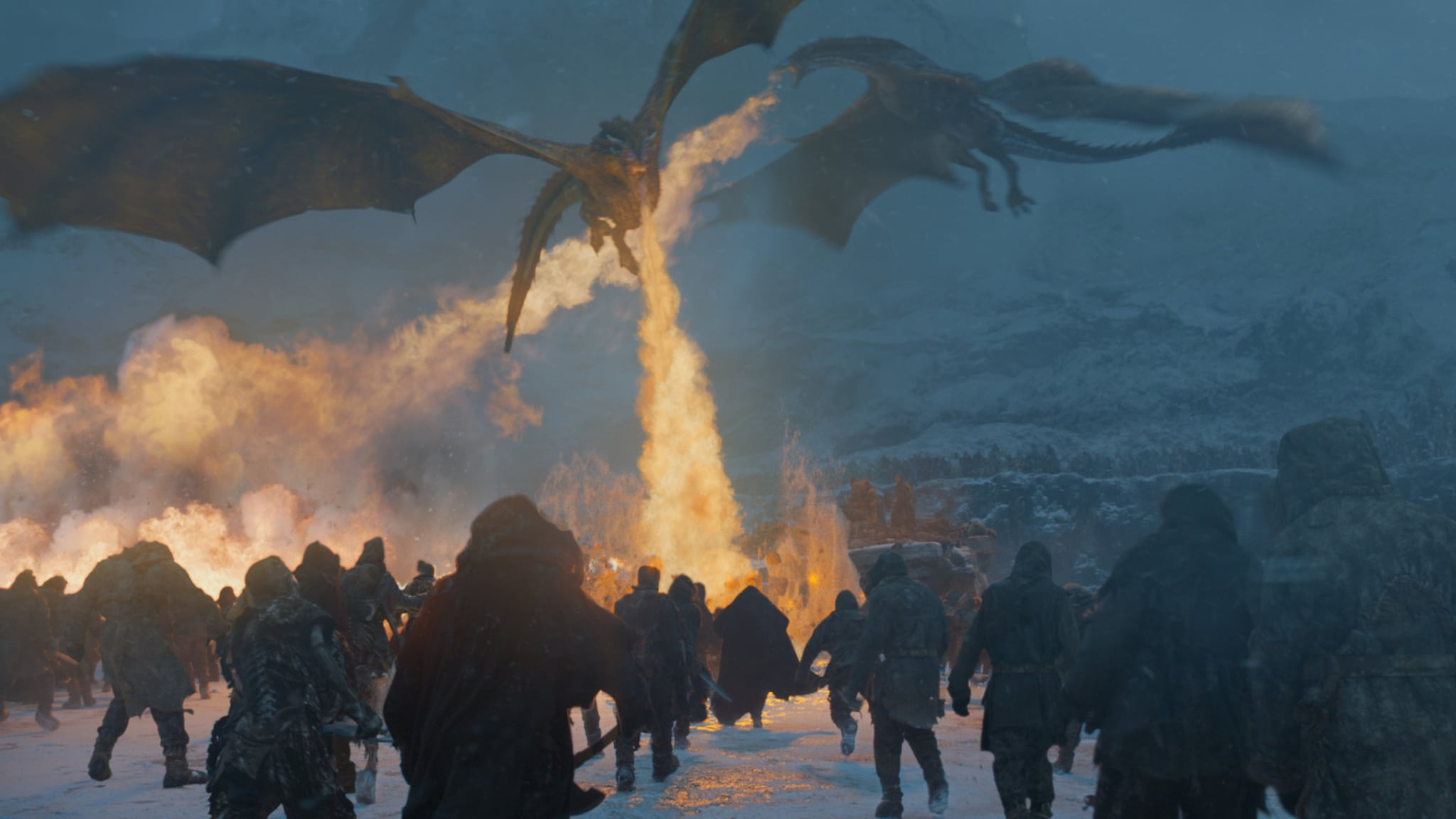how did the white walkers kill the dragon on game of thrones