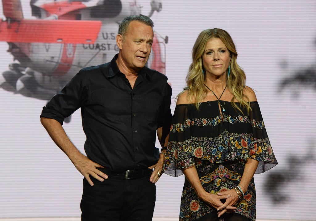 Tom Hanks and Rita Wilson | Celebrities at Hand in Hand ...