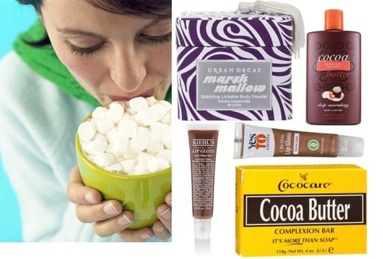 New Hot Cocoa and Marshmallow Holiday Beauty Products