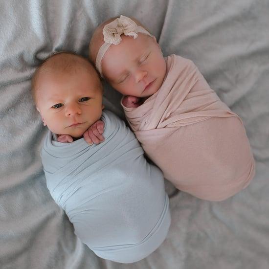 Newborn Photoshoot Taken Before 1 Twin Passed Away