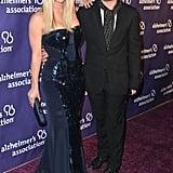 Kaley Cuoco and Johnny Galecki