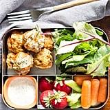 Buffalo Chicken Meatballs Bento Box