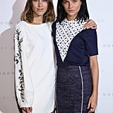 Alexa Chung and Leigh Lezark