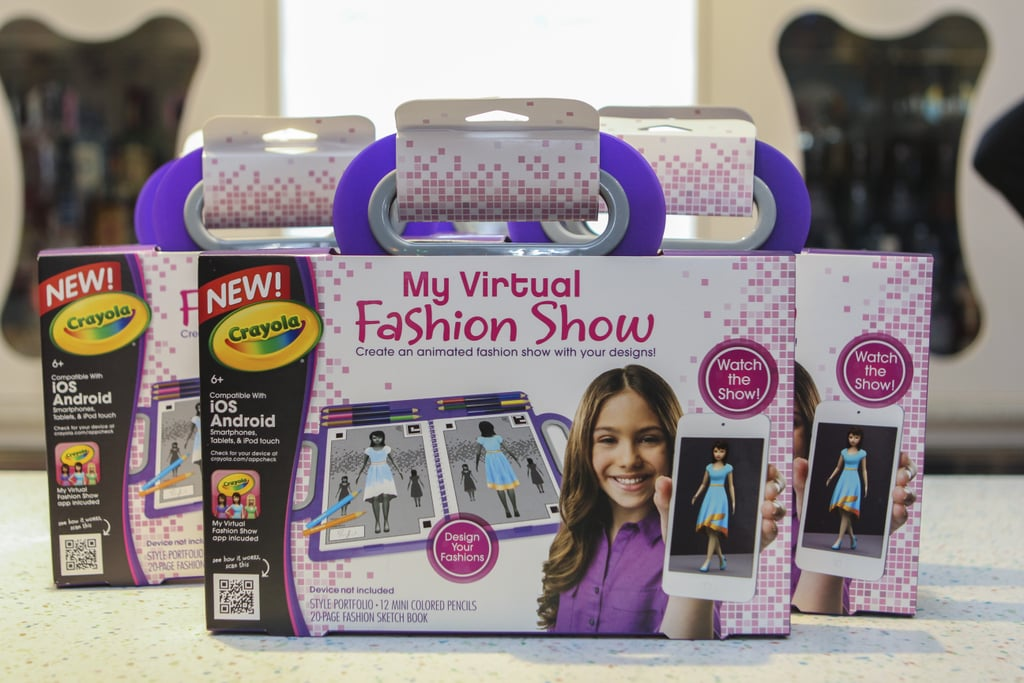 Crayola My Virtual Fashion Show Toys That Get Your Tot Runway Ready Popsugar Family Photo 8