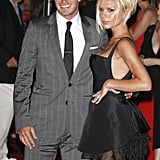 In July 2007, David and Victoria were welcomed to LA with a big bash.