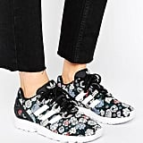 Adidas ZX Flux Performance Floral-Print Sneakers