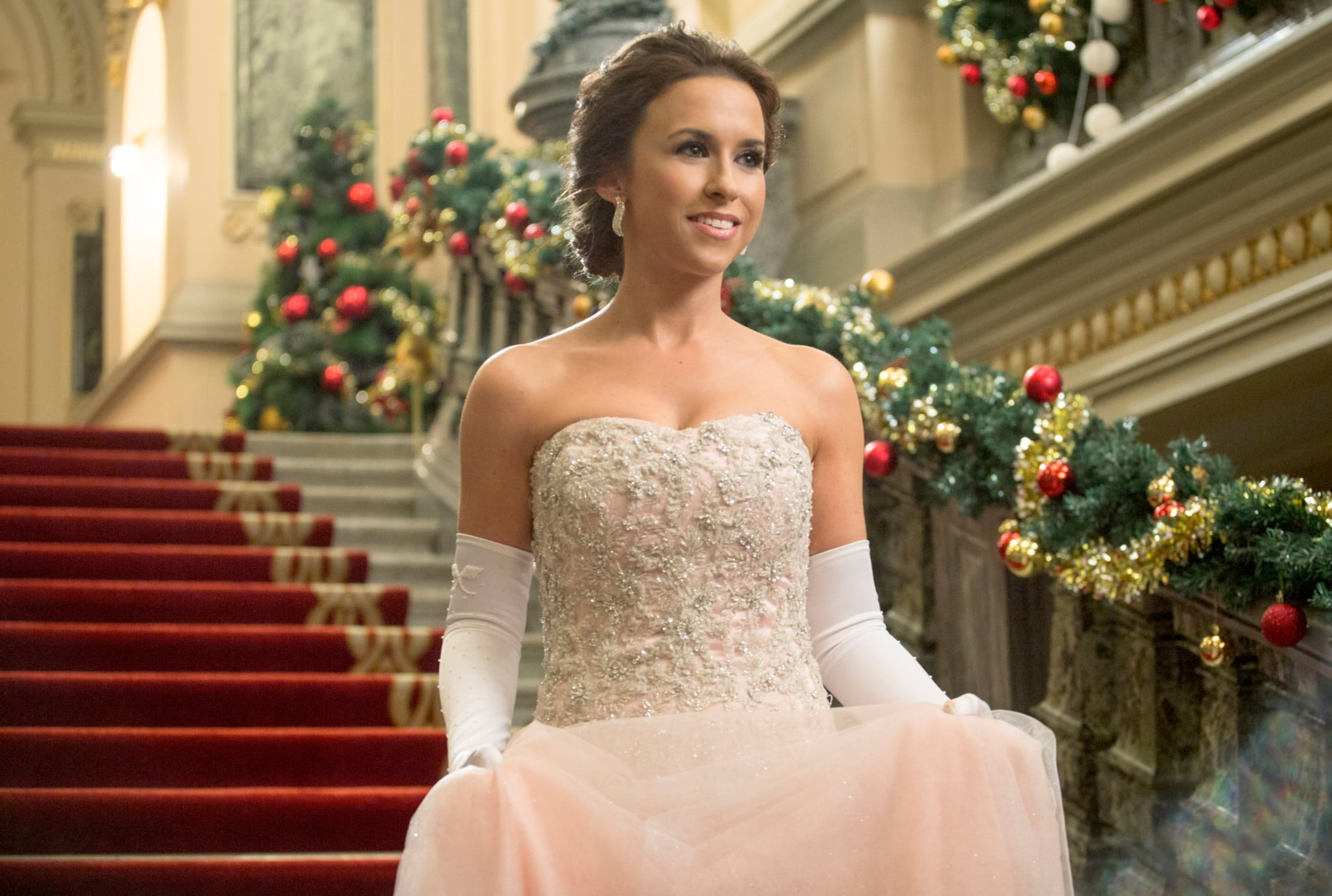 A ROYAL CHRISTMAS, Lacey Chabert, (aired Nov. 21, 2014). photo: Gabriel Hennessey / Hallmark Channel / Courtesy: Everett Collection