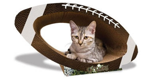 Pampered Pals: Super Bowl Scratcher