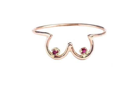 Dallas Maynard Boob Ring Gift For Breastfeeding Moms