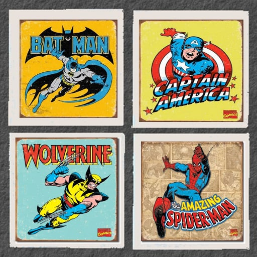Superheroes Accessories and Art