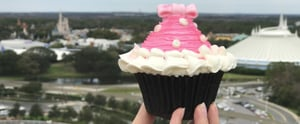 Get Your Disney Fix With This Supercute Minnie Mouse Cupcake!