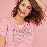 Feminist forever? Let them know with this Lane Bryant Curved High-Low Hem Graphic Tee ($22, originally $35).