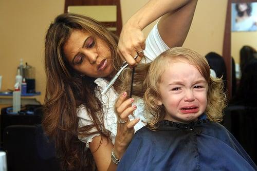 The Dream: Getting a Haircut
