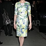 Michelle Williams enjoyed an unseasonably warm NYC evening.