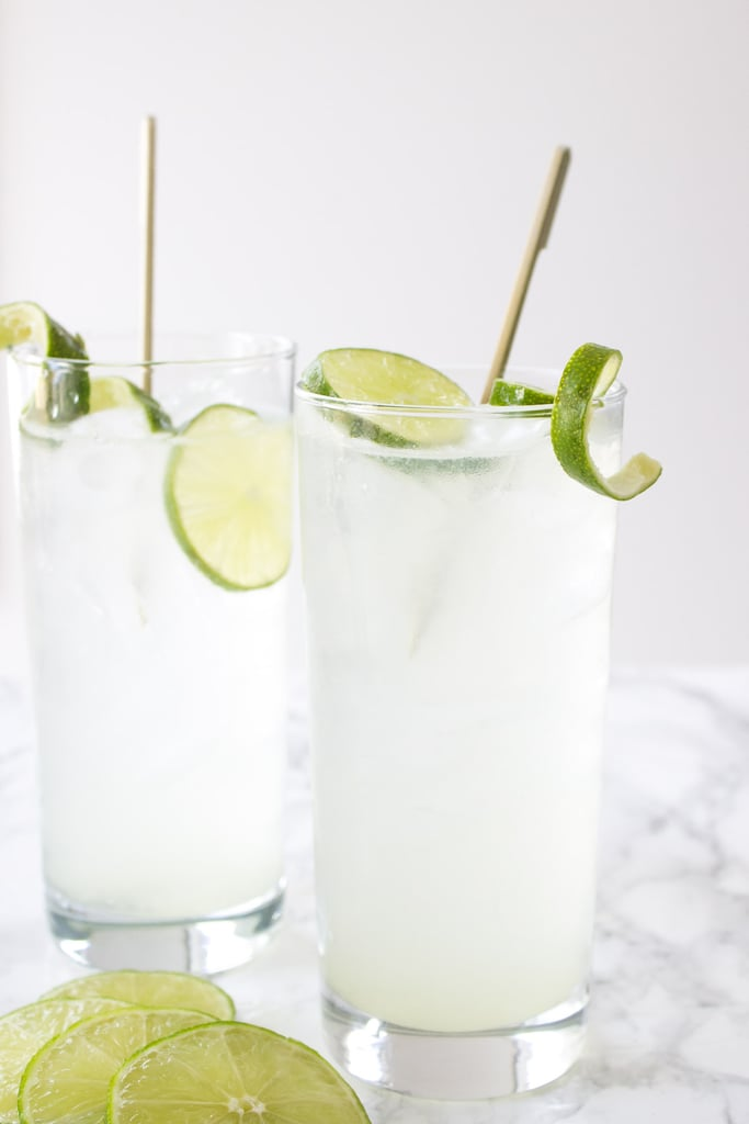 Coconut Water Gin and Tonic