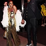 Gabrielle Union and Dwyane Wade at the Met Gala Afterparty